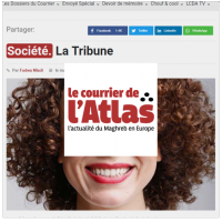 Courrier de l'Atlas tribune beurette Lallab