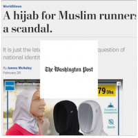 Lallab the washington post hijab running