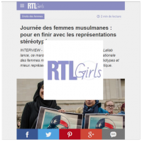 RTL Girls Lallab Muslim Womens Day