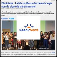 Saphirnews Lallab mai 2018