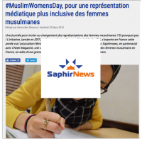 Saphirnews Muslim Women's Day Lallab