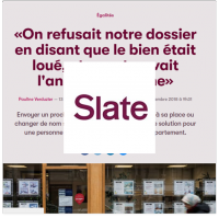 Slate discriminations logement Lallab