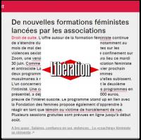 Libération Lallab JeVeuxPouvoir juin 2020