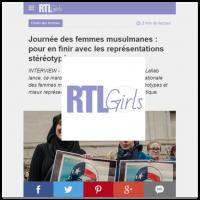 RTL Girls Lallab Muslim Womens Day
