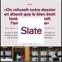 Slate discriminations logement Lallab