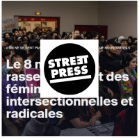 Streetpress Lallab village des féminismes mars 2020