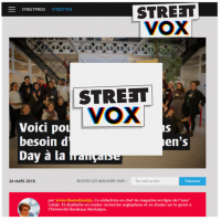 Streetvox Lallab Muslim Womens Day