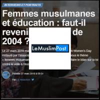 The Muslim Post Lallab Muslim Women's Day 2019
